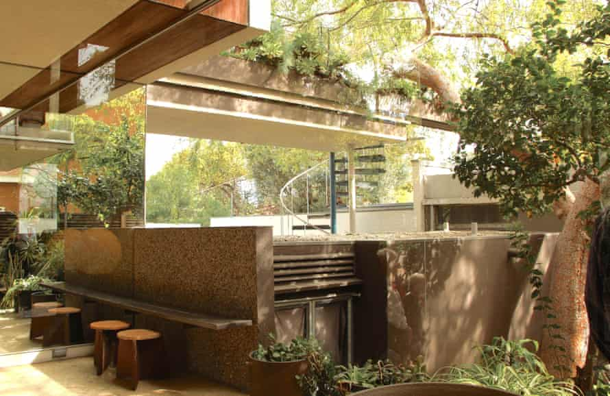 Neutra VDL Studio and Residences, home of architect Richard Neutra.