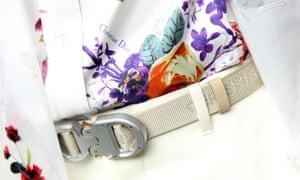 Dior belt buckle