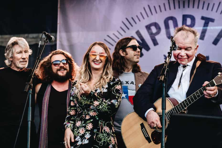 Roger Waters, Jim James and Margo Price playing alongside Prine.