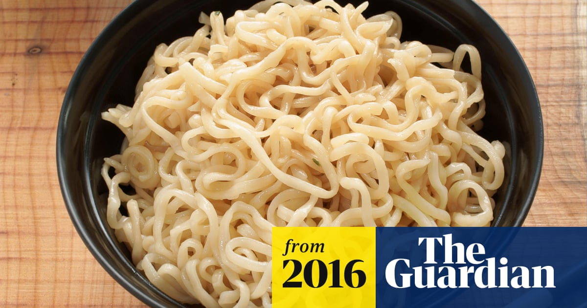 Ramen is displacing tobacco as most popular US prison currency, study finds