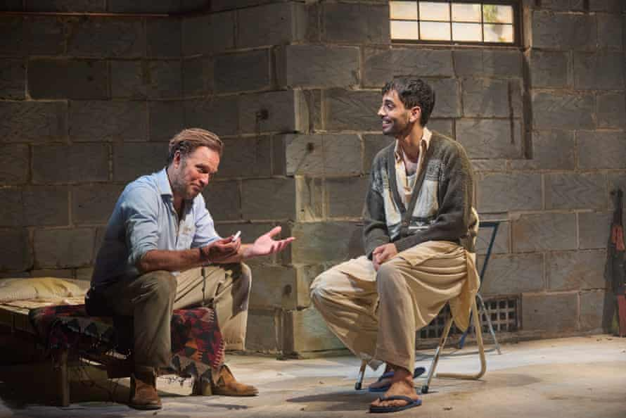 Lapaine and Sid Sagar in The Invisible Hand.