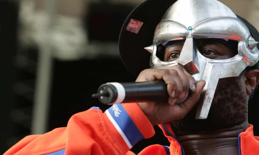 MF Doom performing in 2005.