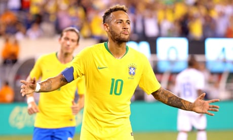 Neymar and Firmino fire Brazil past punchless USA in friendly