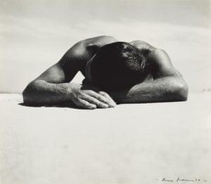 Sunbaker (1937) by Max Dupain