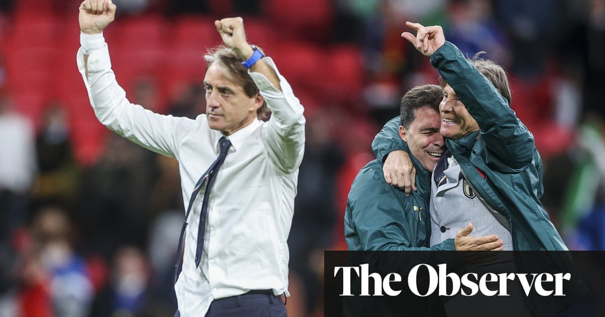 'He cleared up the rubble': how Roberto Mancini rebuilt Italy