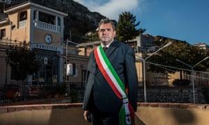 The mayor of Roccafiorita Concetto Orlando.