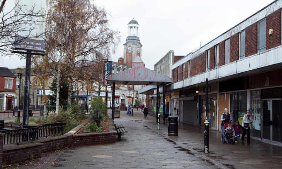Spennymoor in Co Durham