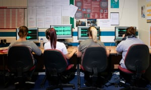 Inmates at HMP Styal in Cheshire on a radio course.