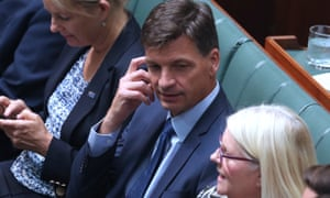 Angus Taylor in parliament
