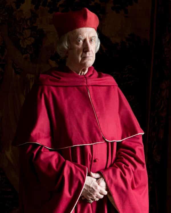 Jonathan Pryce as Cardinal Wolsey.