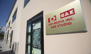 An entrance to the offices of EDI and G&E is pictured in West Covina, California July 31, 2014. Picture taken July 31, 2014. To match Special Report CHINA-RADIO/ REUTERS/Mario Anzuoni