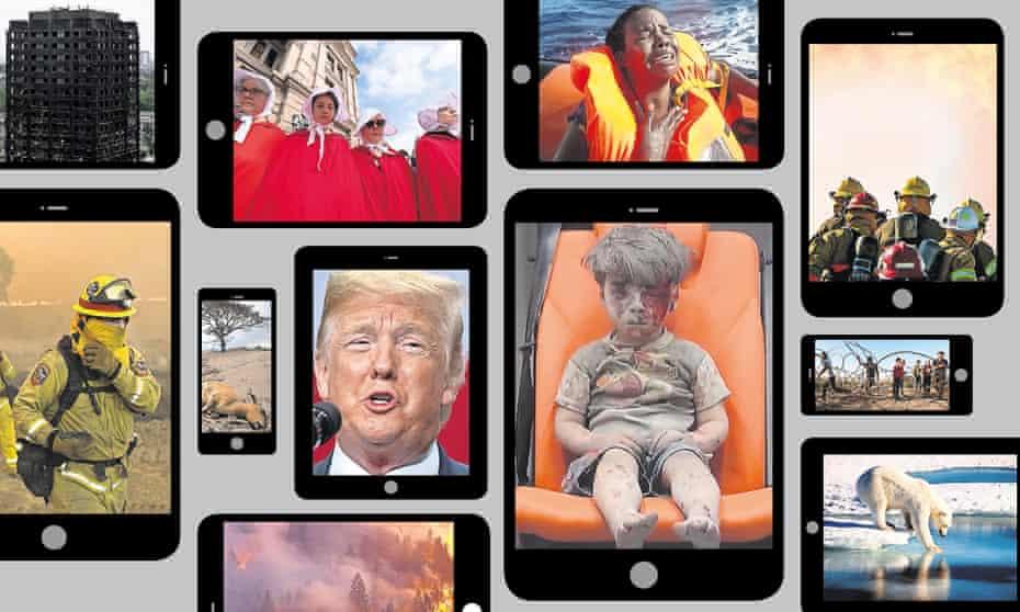 bad news composite image