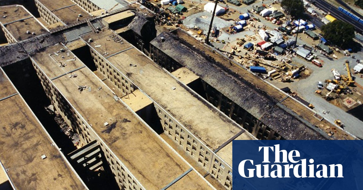 The Pentagon After The 9 11 Attack In Pictures Us News