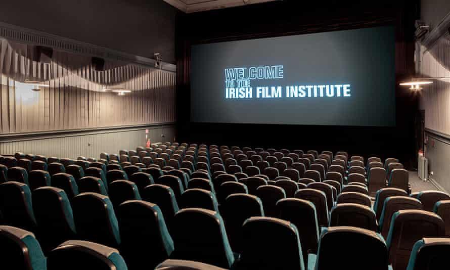 Screening room at the Irish Film Institute