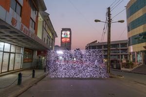 Luwum Street East, Central Kamplala, Uganda - PM 2.5 60 - 70 micrograms per cubic metre