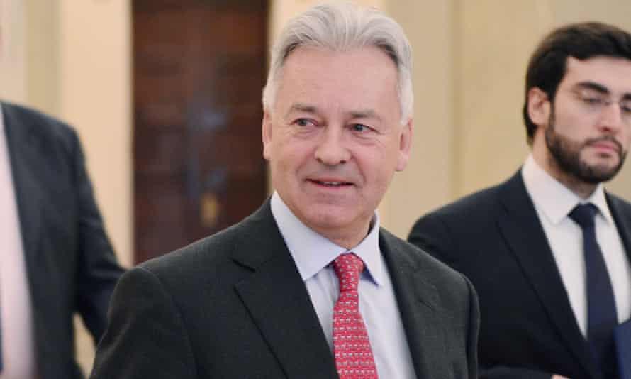 Foreign minister Sir Alan Duncan