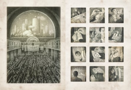 THE ARRIVAL by Shaun Tan page 30 hall double