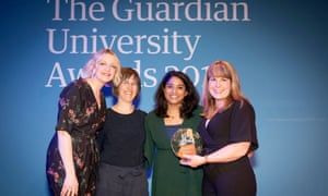 Winners of the widening access and outreach programme from Birkbeck, University of London.