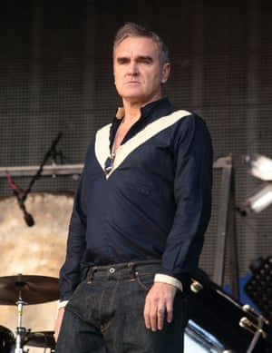 'We were looking at each other, getting nearer and nearer, and at almost exactly the same moment we both put out our hands' … Rowling on meeting Morrissey in Harvey Nichols.