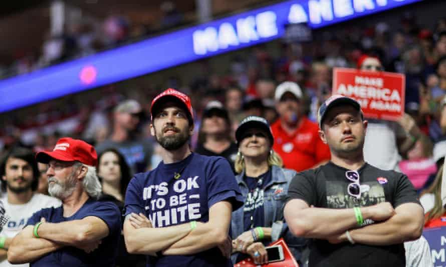 Donald Trump's rally in Tulsa.