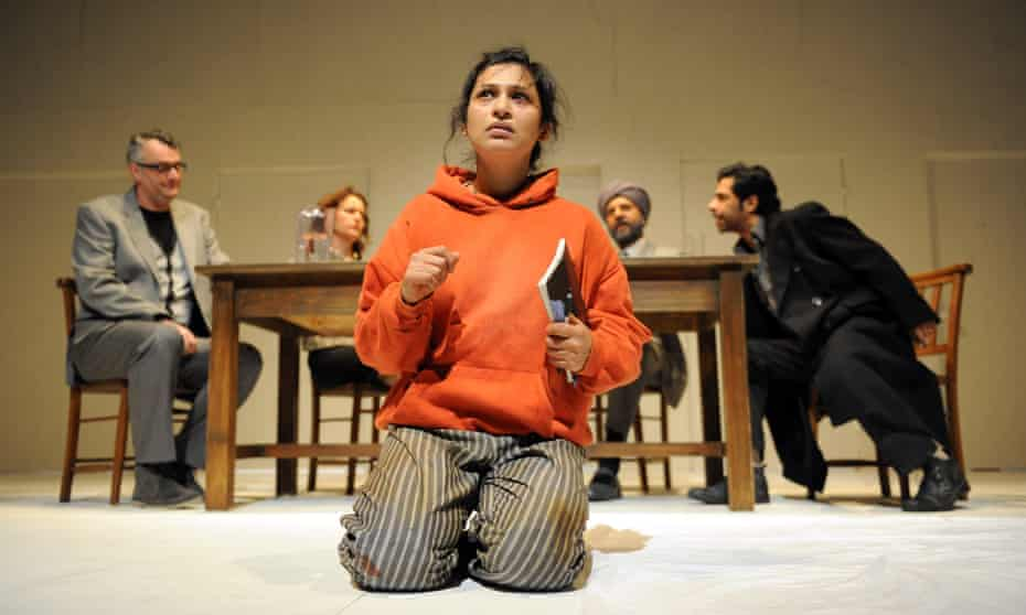 Writer under fire … Chetna Pandya in Behud at the Belgrade, Coventry.
