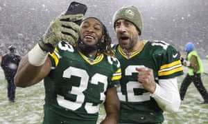 Aaron Jones and Aaron Rodgers are a formidable tandem on the ground and through the air