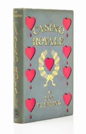 Casino Royale Ian Fleming First Edition Reproduction