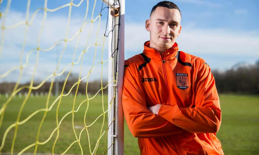 Dan Westwood of Wolverhampton Sporting has scored over 100 goals for the club in just over a year and is now being scouted by league clubs