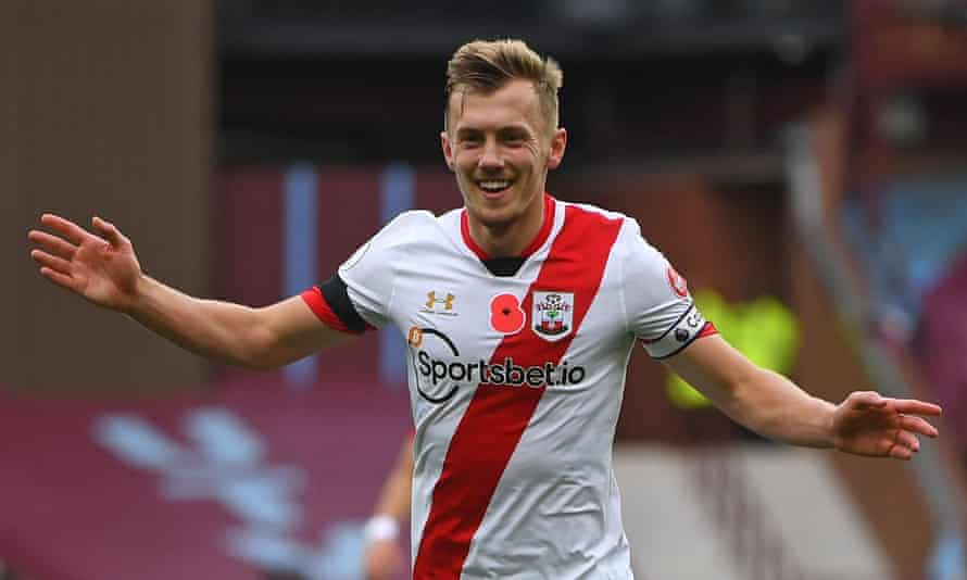 James Ward-Prowse has scored four goals and set up three more this season.