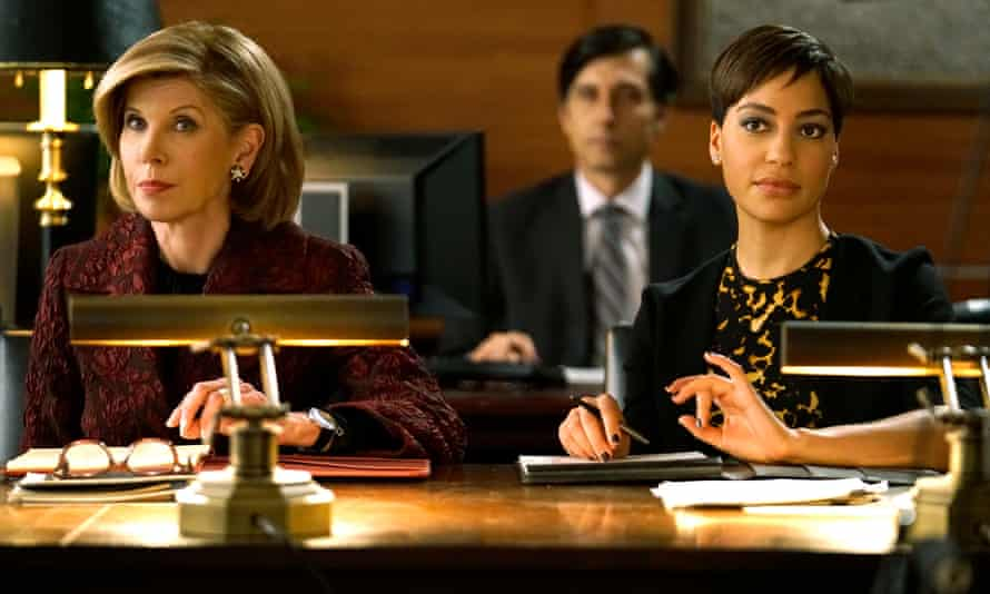 (l-r) Christine Baranski as Diane Lockhart, Cush Jumbo as Lucca Quin, in The Good Fight
