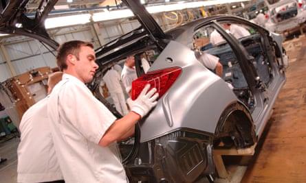 Honda factory in windon