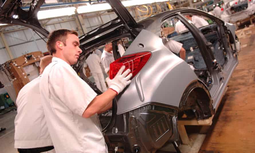 Civic production at the Honda Swindon factory