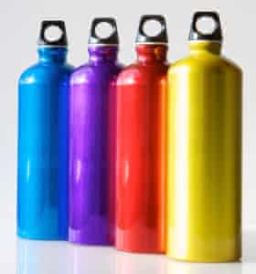 Buy a reusable water bottle and use it.