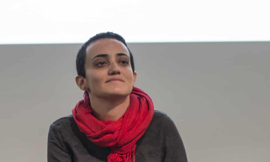 Lina Attalah, editor-in-chief of Mada Masr, a prominent investigative media outlet in Egypt