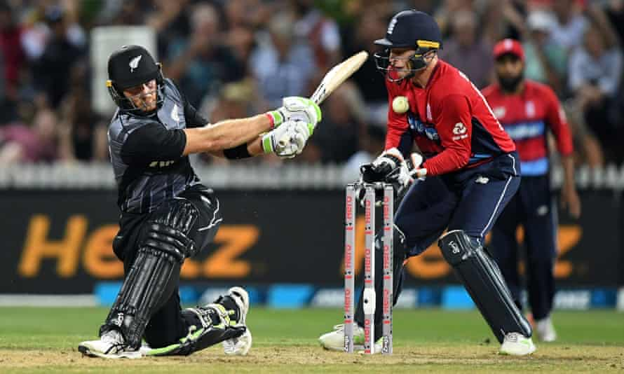 Jos Buttler in action in England's recent T20 victory over New Zealand. The wicketkeeper is one of a number of players to now have a predominantly white-ball career.