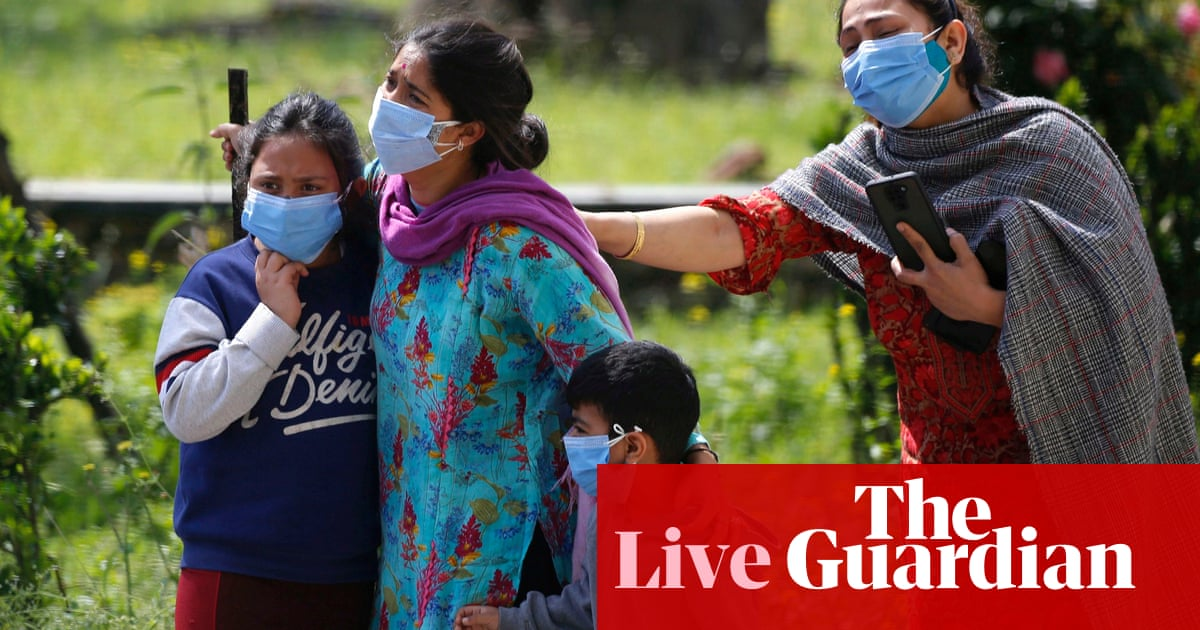 Coronavirus live news: India suffers record daily deathss; Tokyo doctors call for Japan Olympics to be cancelled