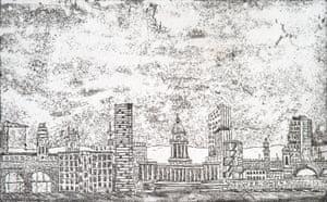 Leeds skyline illustration.