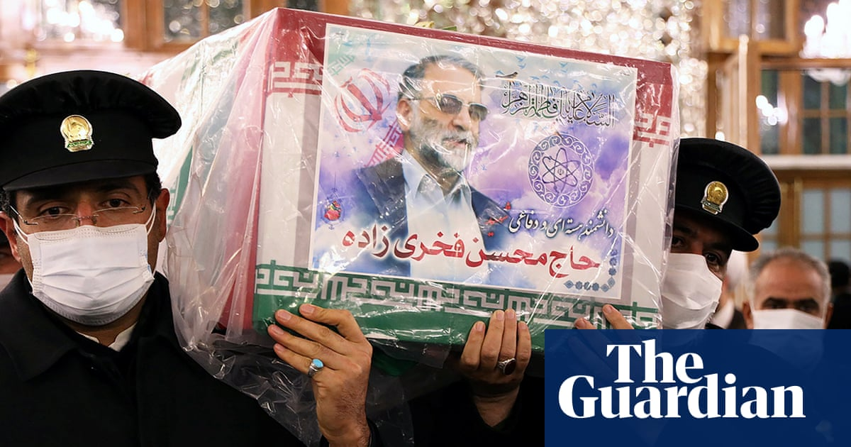 Iranian nuclear chief's body prepared for burial as anger focused on Israel and US – The Guardian