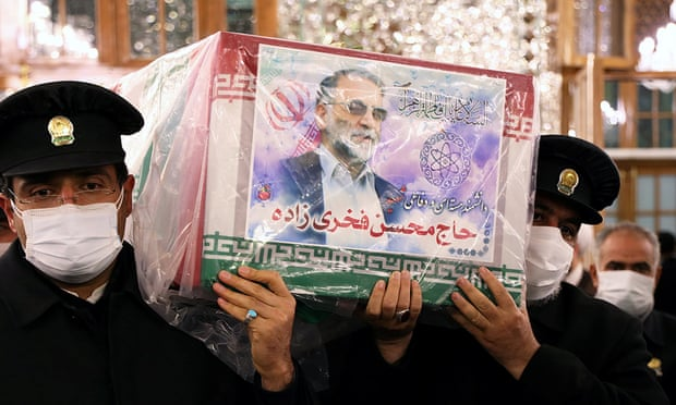 Iranian nuclear chief's body prepared for burial as anger focused on Israel and US