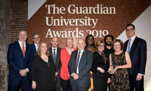 University of the Year award (sponsored by HSBC) winner: Nottingham Trent University. Nottingham Trent University was recognised for its inclusive curriculum and focus on social mobility.
