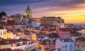 Literary Lisbon … Portugal's capital makes for a romantic setting.