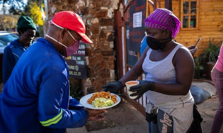 Coronavirus live news: South Africa sees record jump in cases as New York protesters urged to get tested