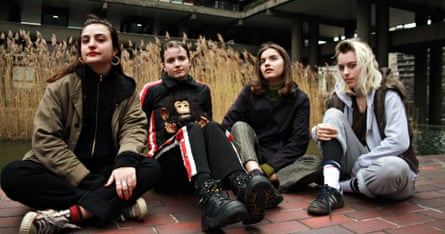 Seething power … Goat Girl play the All Years Leaving festival.