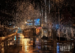 Rain in the City by Christine Holt