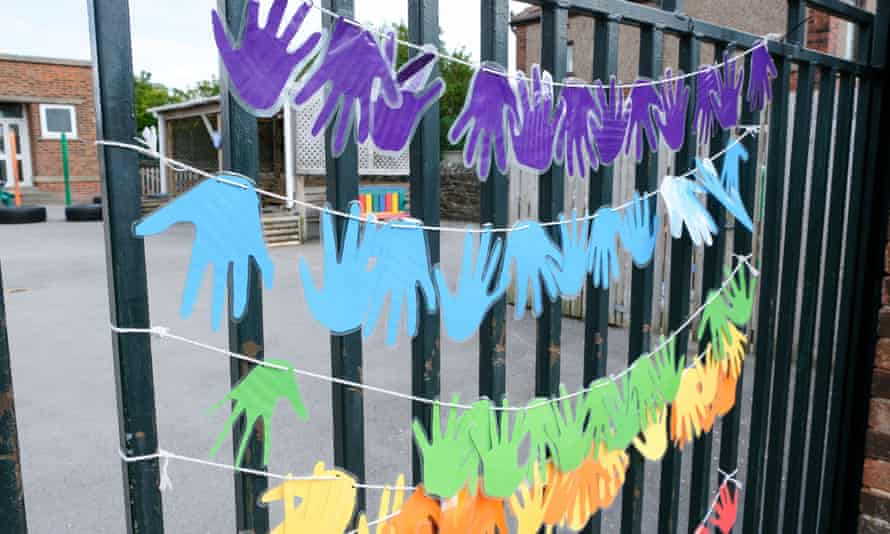 Support for key workers at a primary school in Sheffield