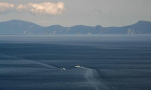 The disappeared island lies east of the Northern Territories, which are at the centre of a dispute between Japan and Russia.