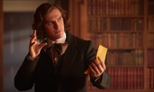 Man of letters ... Dan Stevens as Charles Dickens in The Man Who Invented Christmas.