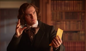 Dan Stevens as Charles Dickens in The Man Who Invented Christmas