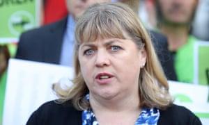 The Australian Education Union's president, Correna Haythorpe