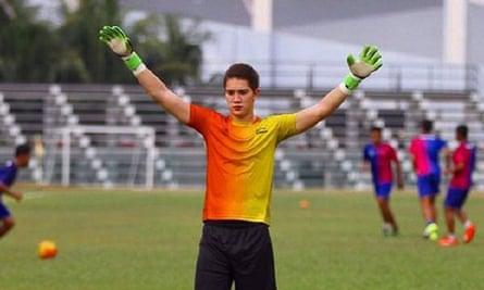 Australian goalkeeper Stefan Petrovski played for Melaka United in Malaysia's second tier.